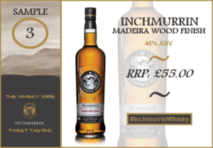 Inchmurrin madeira wood finish