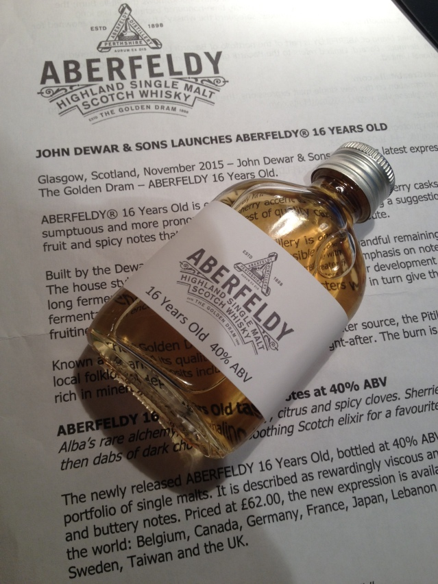 Aberfeldy 16 Years Old Sample