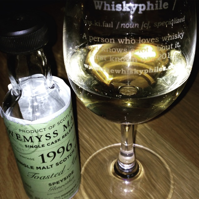 Toasted Anise 1996 (bottled 2015) - Wemyss Malts (Glenrothes)
