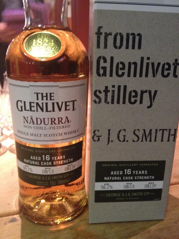 The Glenlivet 16 Year Old Nàdurra Batch 0813Y