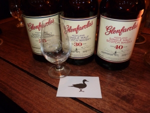 Duck's Inn Glenfarclas Vertical 25 30 40 year old