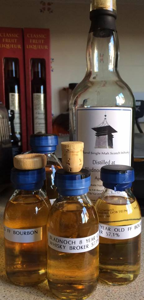 Bladnoch 8 Years Old 2006 FF Bourbon Whiskybroker