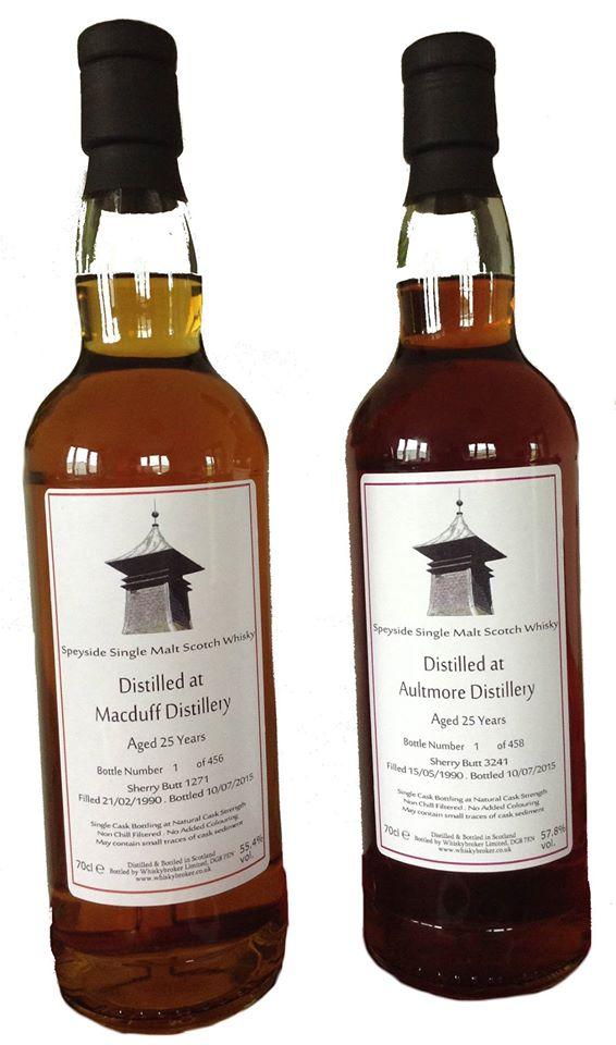 Whiskybroker 25yo Aultmore & Macduff