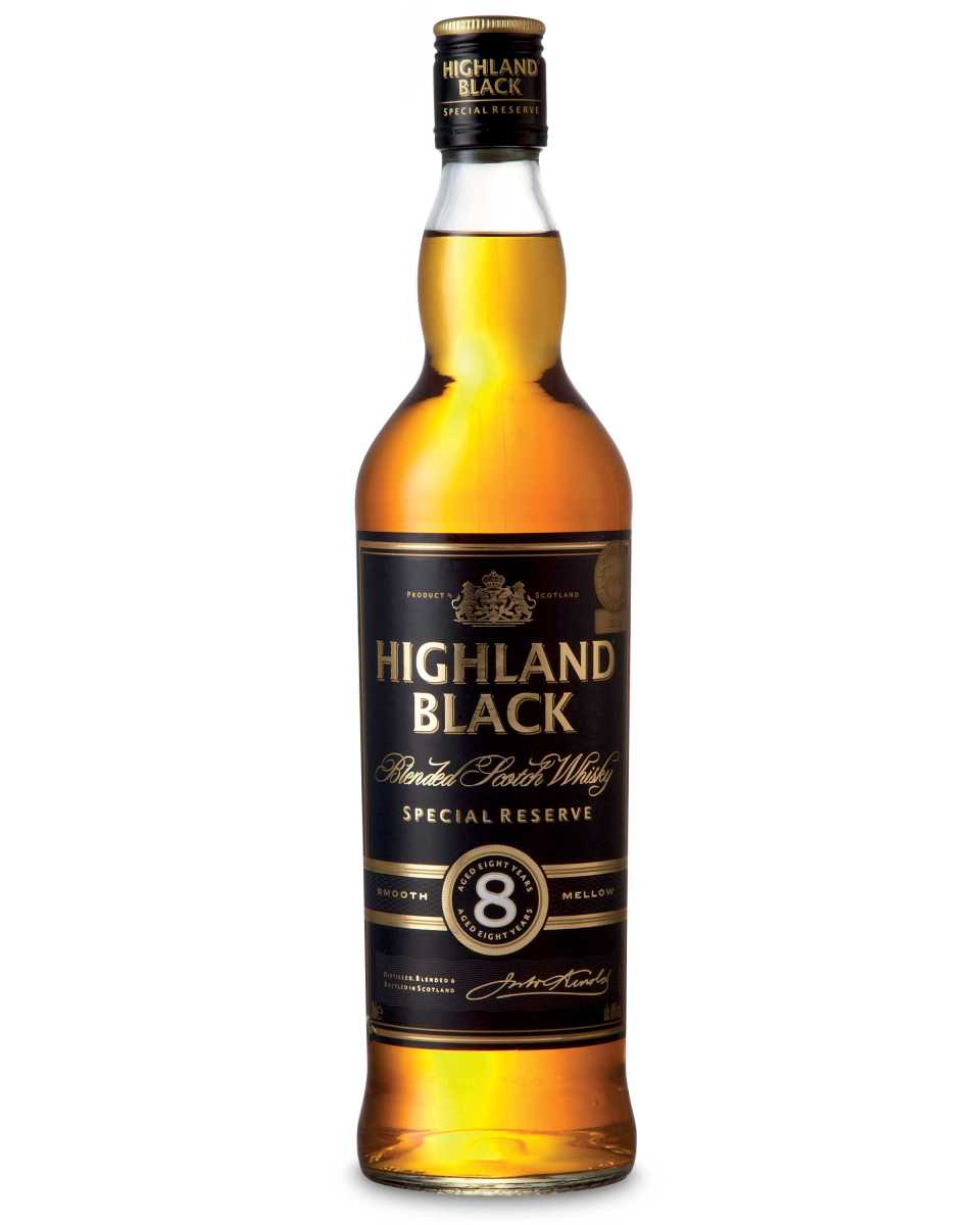 Highland Black 8 Years Old ~ 40% (Aldi)