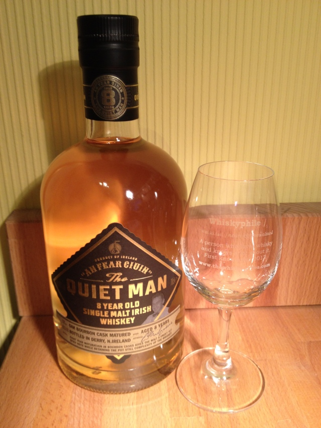 The Quiet Man 8 Year Old Irish Single Malt