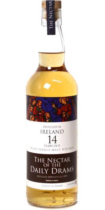 Irish Single Malt, 14yo, 2000-2015, 51.5% – The Nectar of the Daily Drams