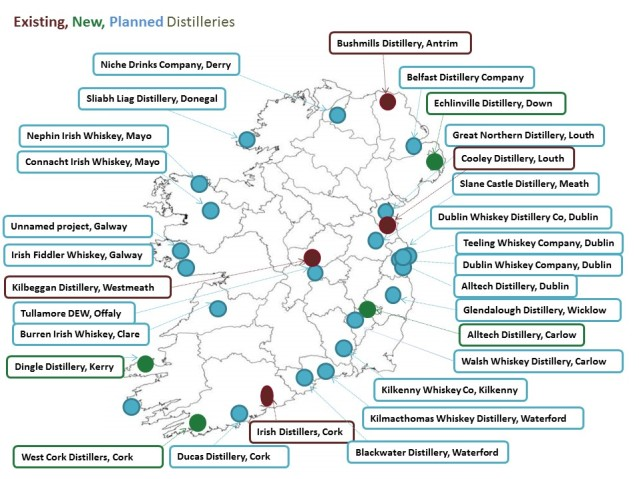 Irish-Whiskey-distillery-map