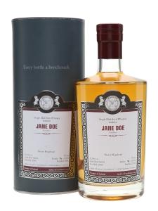 Jane Doe 2000 Bottled 2016 Sherry Cask (Malts of Scotland)