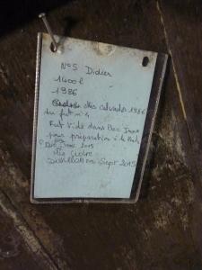 Lemorton Barrel Label 1986