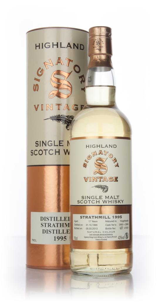 strathmill-17-year-old-1995-casks-2663-and-2664-signatory-whisky