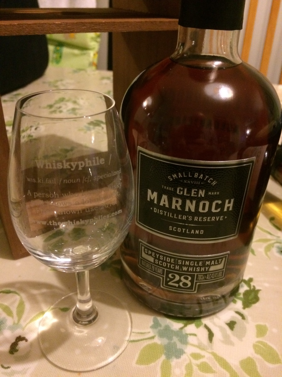 Glen Marnoch 28 Years Old ~ 43.4% (Aldi)