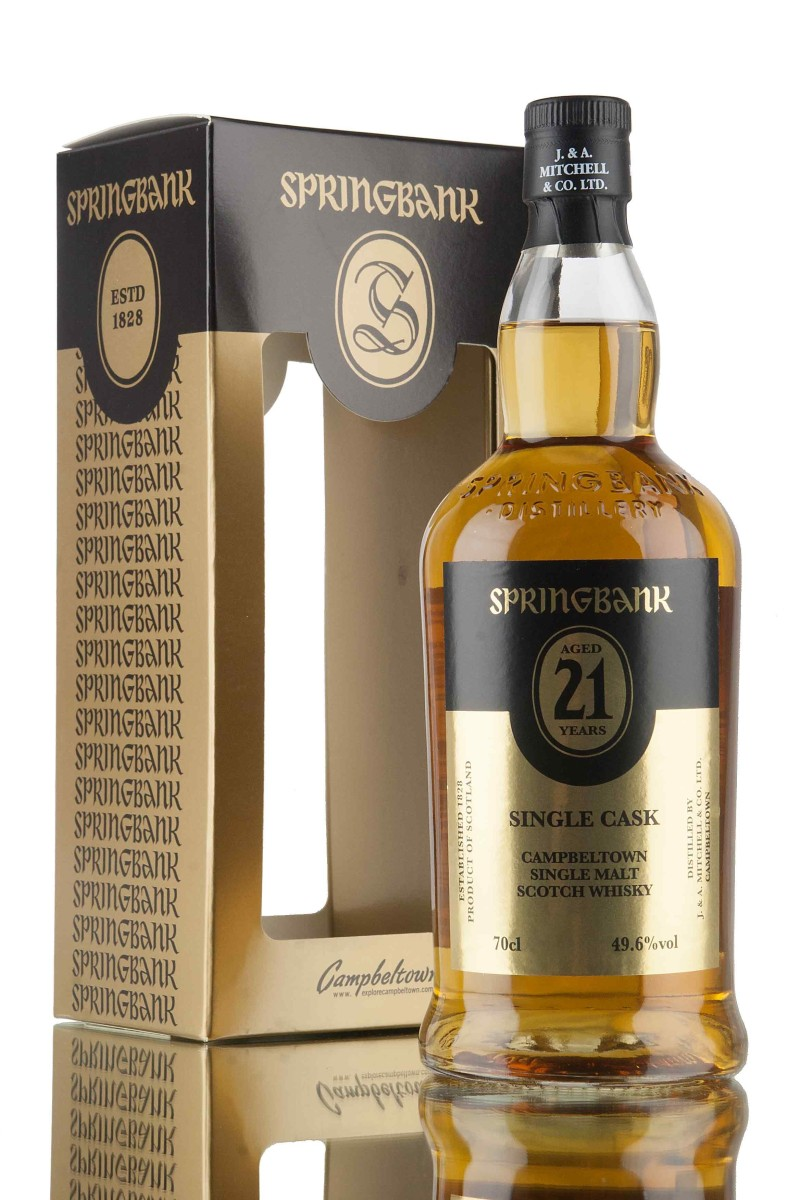 Springbank 21 Years Old 2016 Single Cask Oloroso Sherry ~ 49.6% (J & A Mitchell)