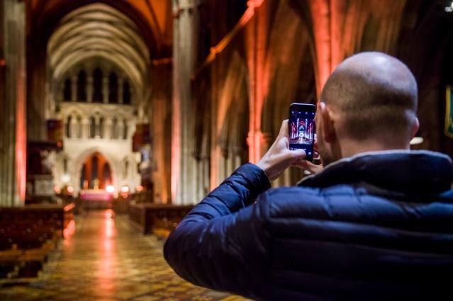 inside St. Patricks Cathedral