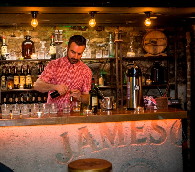 Jameson Butchers Bar Irish Coffee Masterclass