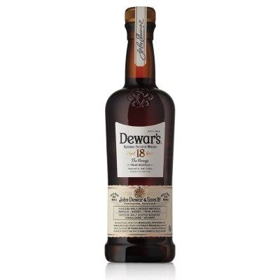 Dewars 18 Year Old Blended Scotch Whisky