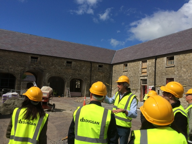 Slane Distillery Production Quad