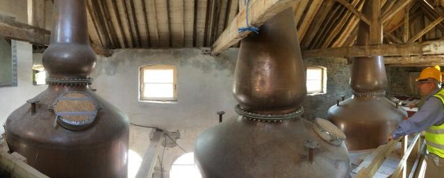 Slane Distillery Stllhouse panorama