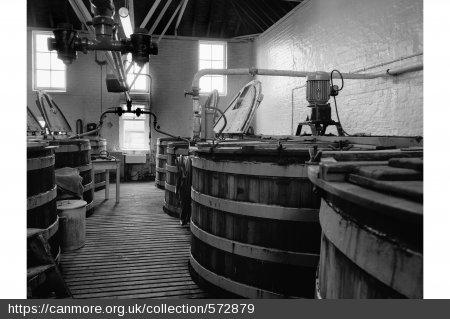 Rosebank Distillery Washbacks