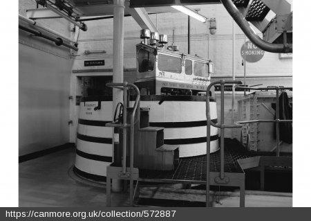 Rosebank Distillery spirit safe