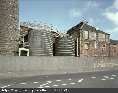 Rosebank Distillery wormtubs