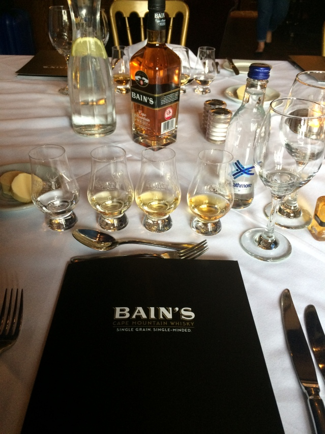 Bains Deconstructed Tasting
