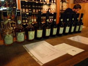 Calvados Coquerel tasting bar