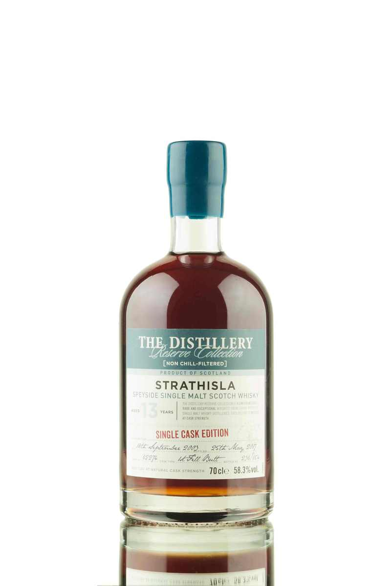 Strathisla 13 Year Old 2003 The Distillery Reserve Collection ~ 58.3% (Chivas Brothers)