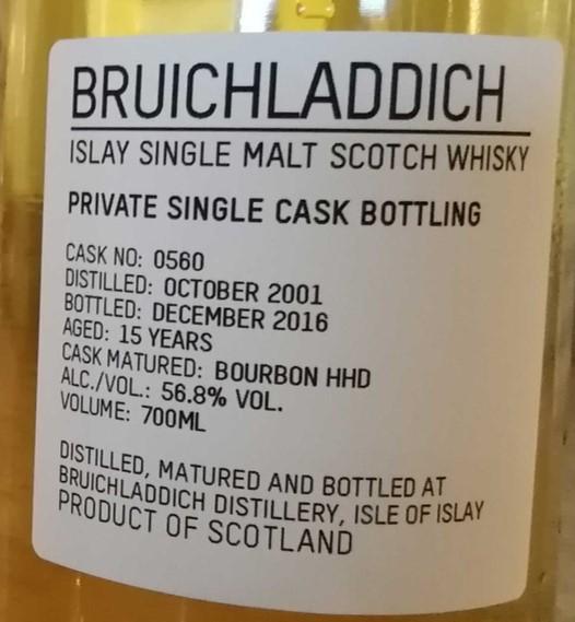 Bruichladdich-15yo-cask0560