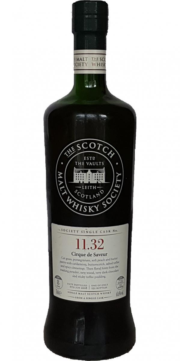 SMWS 11.32 bottle