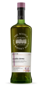 CASK No. 37.98 A trifle citrusy