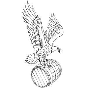 Eagle cask