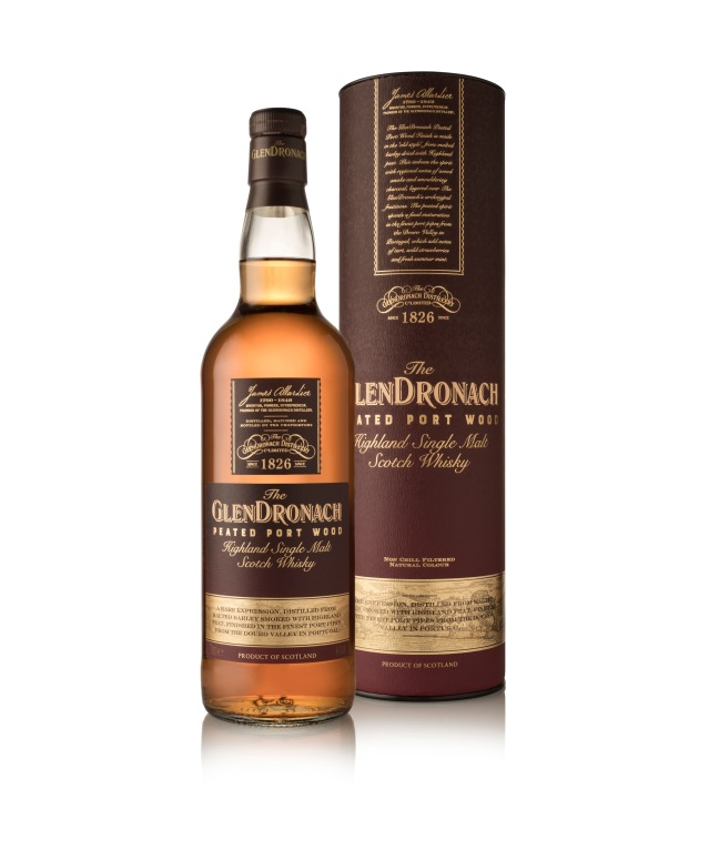 GlenDronach Peated Port Wood Infront