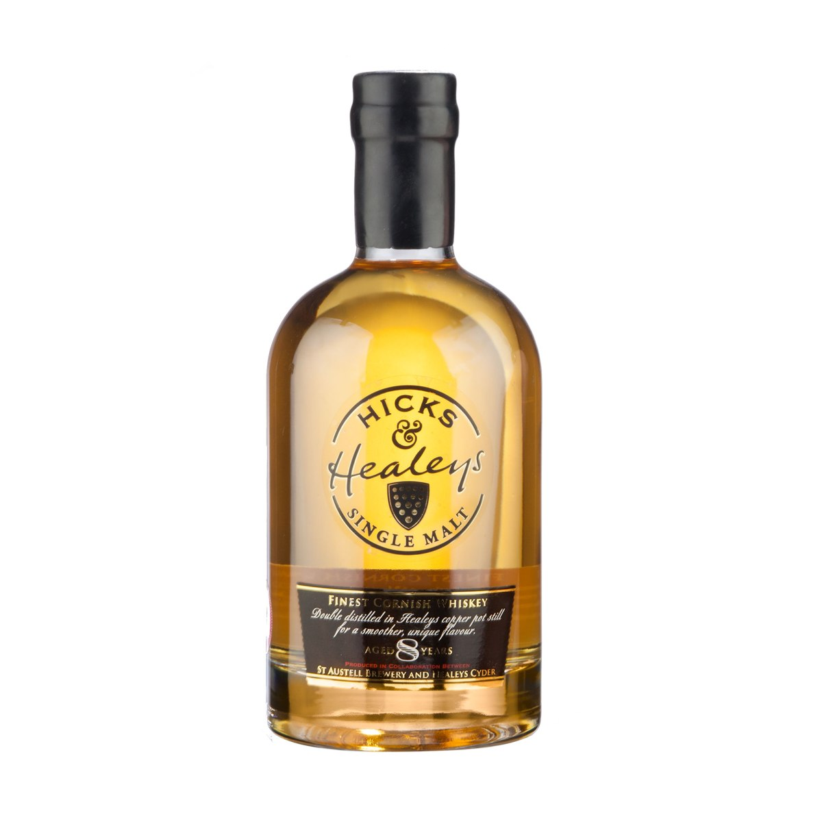 Hicks & Healey 8 Year Old Cornish Single Malt (42.5%, OB, +/-2016)