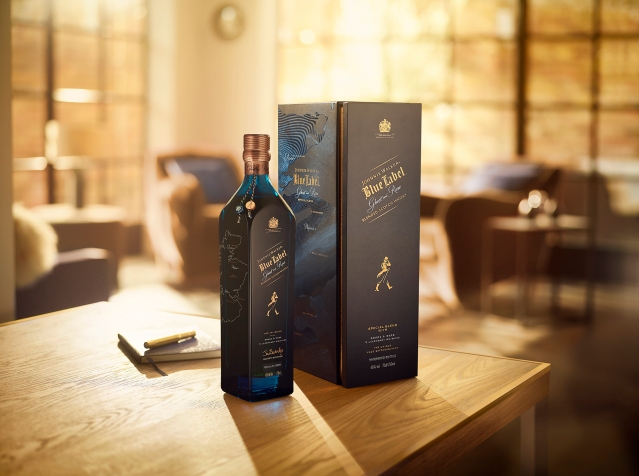 Johnnie Walker Blue Label Ghost and Rare 1