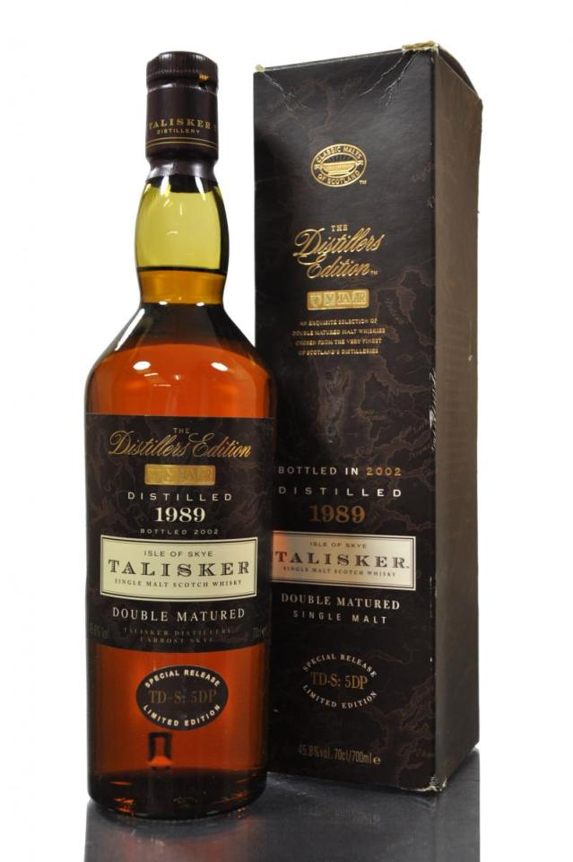 Talisker 1989 Distillers Edition