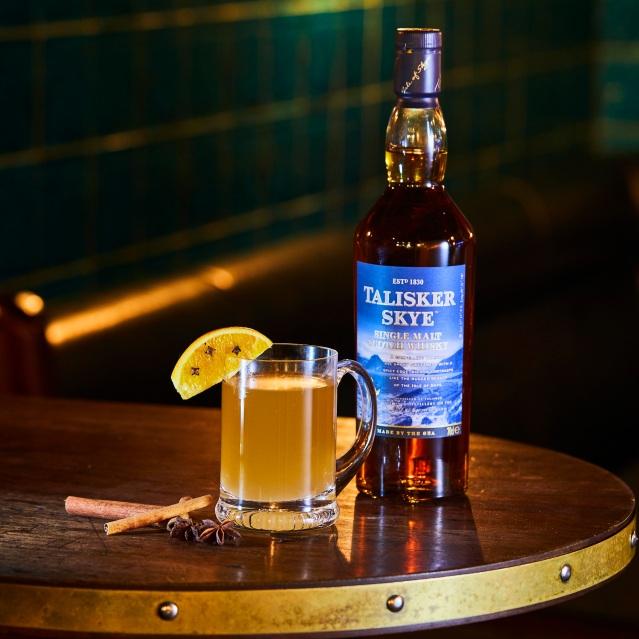Talisker Festive Cocktail - Hot Tali Tody