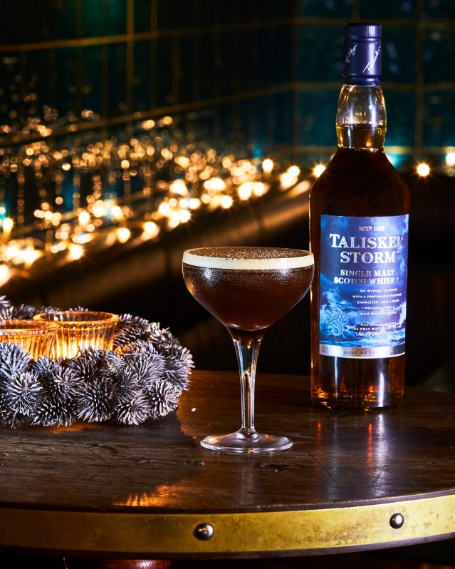 Talisker Festive Cocktails - Chai Spiced Espresso