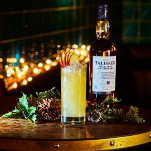 Talisker Festive Cocktails - Spiced Apple Highball