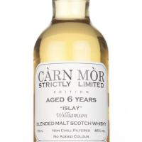 Williamson 6 Years Old 2010 Strictly Limited ~ 46% (Càrn Mòr)