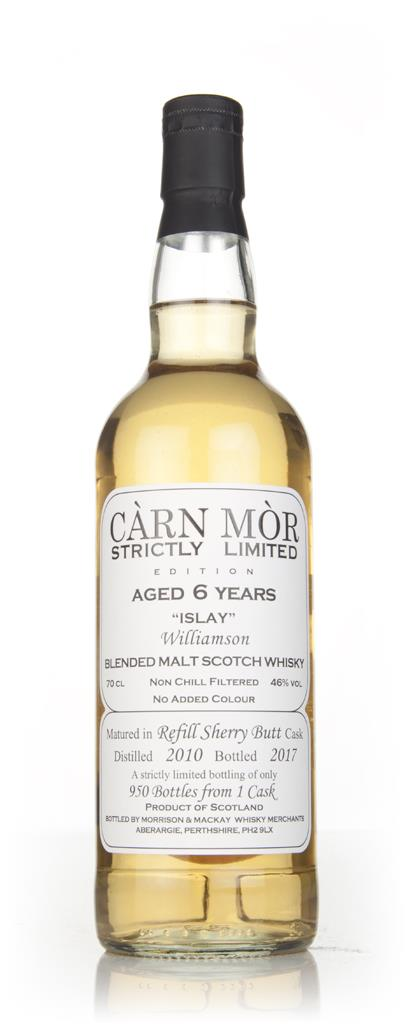 williamson-6-year-old-2010-strictly-limited-carn-mor-whisky