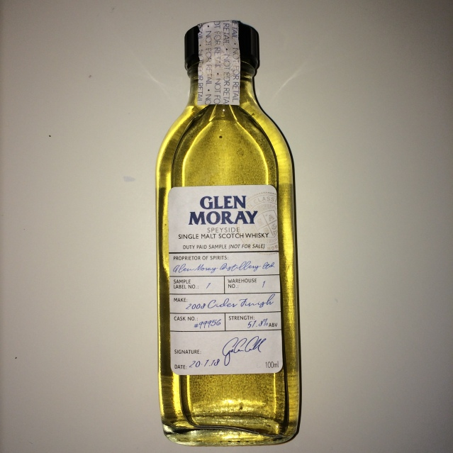 Glen Moray 2008 Cider Cask