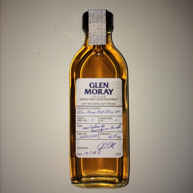 Glen Moray 2002 Cabernet Sauvignon Finish