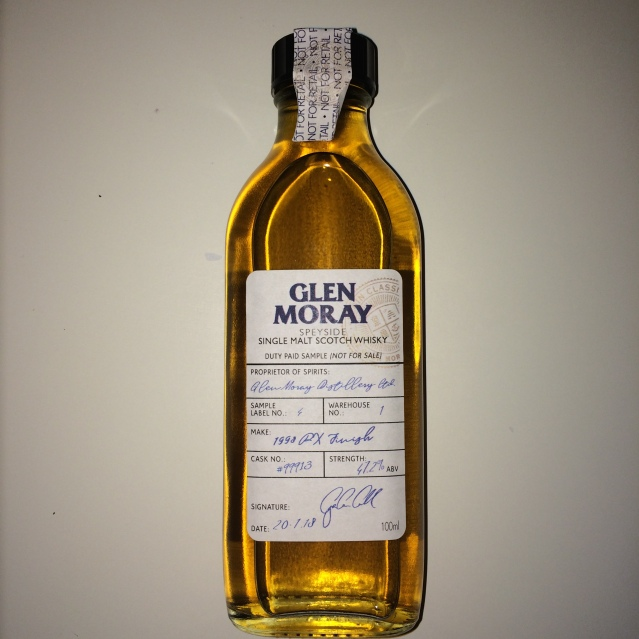Glen Moray 1998 PX Finish