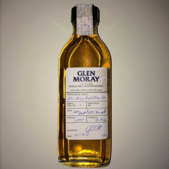Glen Moray 2010 Peated PX Finish