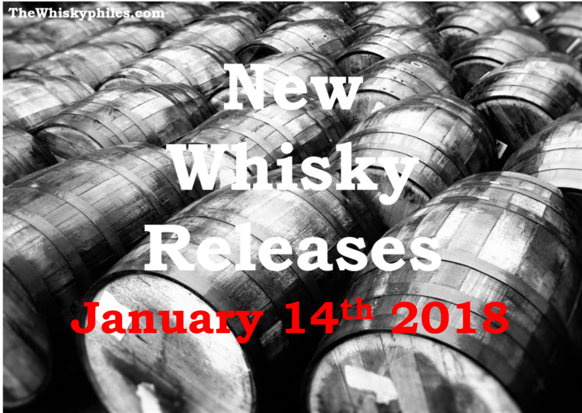 New Whisky Releases: Week 2, 2018