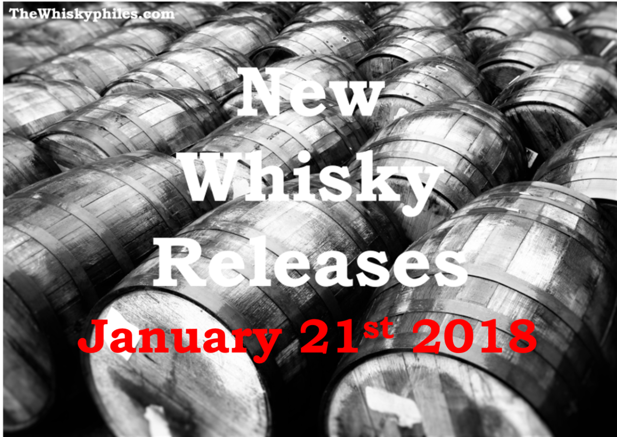 New Whisky Releases: Week 3, 2018