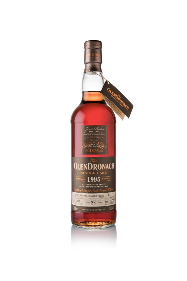 GlenDronach 22 Years Old 1995 PX Puncheon Cask #5476
