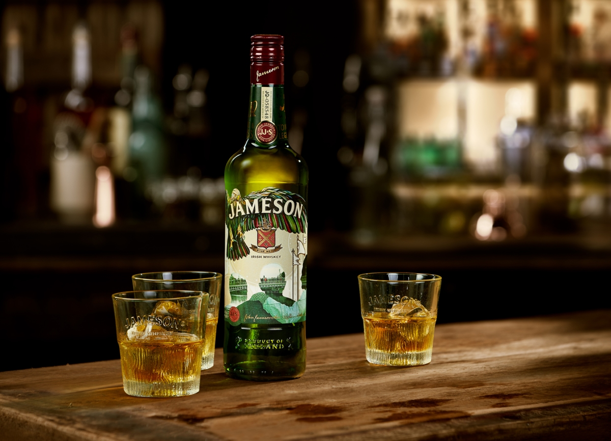 Trio of designers bring spirit of collaboration to Jameson's annual St. Patricks Day bottle