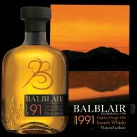 Balblair 1991 Vintage (46%, OB, 2nd Release, 2018)