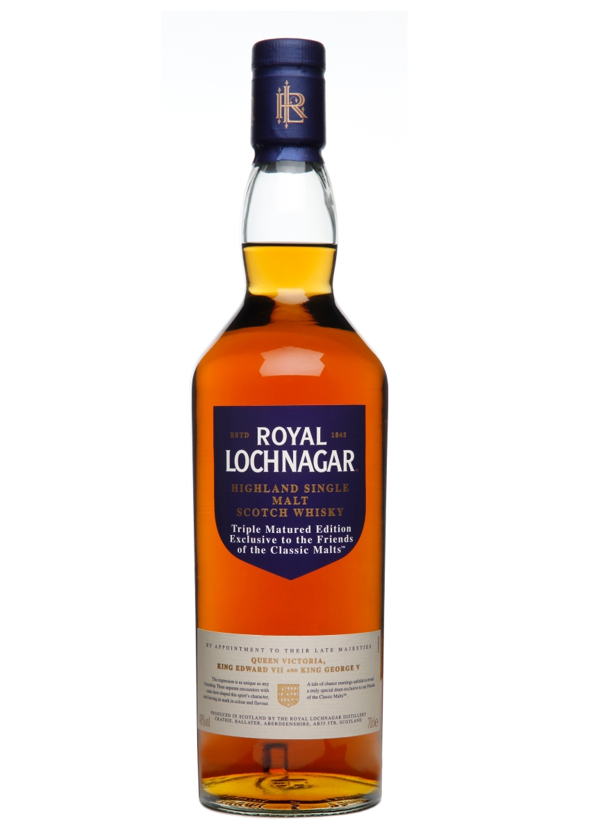 Royal Lochnagar Triple Matured (48%, OB, FOCM, +/-2013)